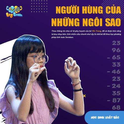 Học sinh Yến Trang